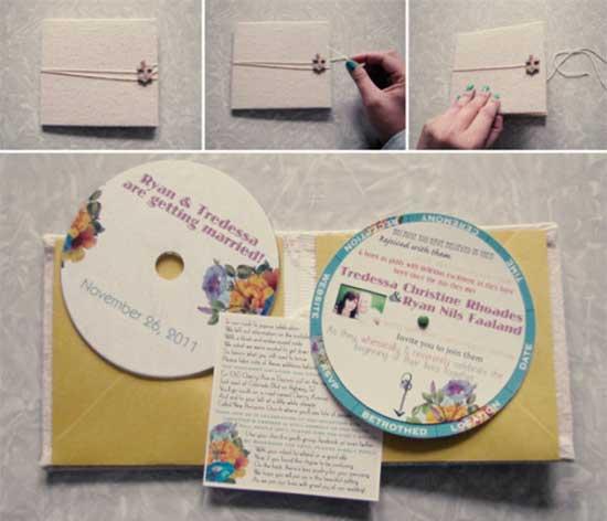 Convite Casamento DVD