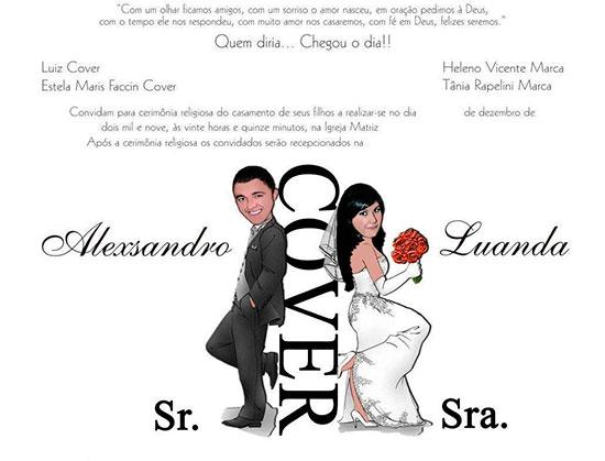 Convite Casamento Personalizado