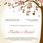 Convites Casamento Românticos