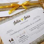 Convites Casamento Rústicos