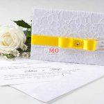 Convites Casamento Renda