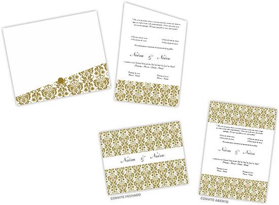 Modelos Convites de Casamento Grátis