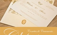Convites Casamento Clássicos