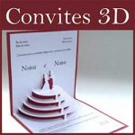 Convites Casamento 3D