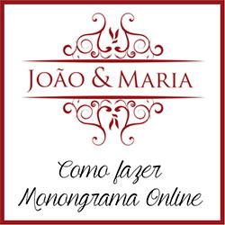 Fazer Monograma Online Grátis