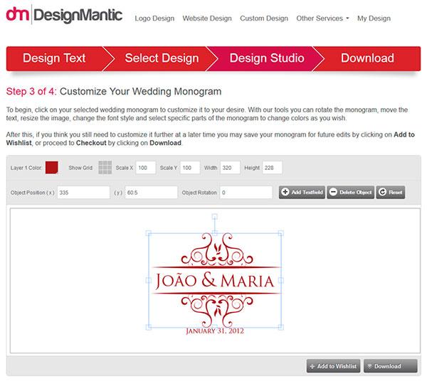 Criar Monograma Online