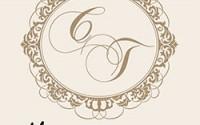 Monograma Convites Casamento