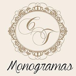 Monograma Brasões Convites Casamento