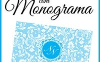 Convite Casamento Monograma