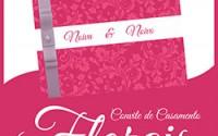 Convite Casamento Florais