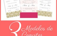 Modelos Convites Casamento Corel Draw
