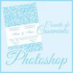 Modelo Convite Photoshop