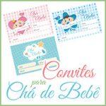 Modelos Convites Chá Bebê