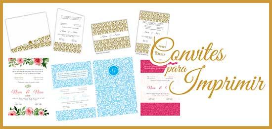 Modelos Convites Casamento Imprimir