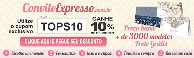 Cupom Desconto convite
